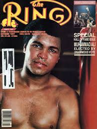 muhammad ali elected to the ring magazine s boxing hall of fame