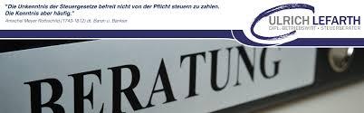Steuerberatung Ulrich Lefarth | Unsere Dienstleistungen - header_leistung