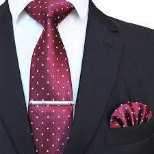 JEMYGINS Original 8cm Gravata Classic <b>Men's Tie Polka Dot</b> Tie ...