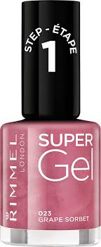 <b>Гель</b>-<b>лак для ногтей</b> Rimmel <b>Super</b> Gel, тон 023, 8 мл — купить в ...