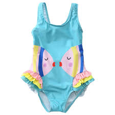 <b>2 6Y</b> Baby Girl Swimsuit <b>Kids</b> One Piece <b>Children's</b> Swimwear ...
