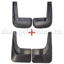 <b>Брызговики передние и</b> задние для VW Polo седан с 2010 по ...