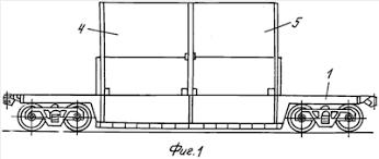 устройство для <b>крепления</b> контейнеров при их двухъярусной ...