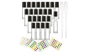 Up To 35% Off on <b>24</b>-<b>Pack 10ml Glass</b> Roll On Bo... | Groupon Goods