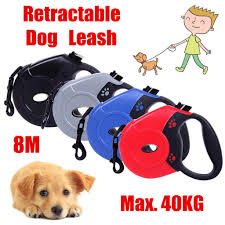 <b>8M</b> Weight Bearing <b>40kg Retractable</b> Dog Leash Cat Traction Rope ...
