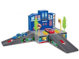 """Игровой <b>набор Dave Toy</b> """"Полицейский участок"""" с 1 машинкой ..."""