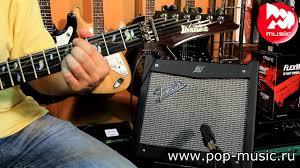 Комбик <b>гитарный FENDER MUSTANG</b> I - YouTube
