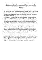 science essay topics essay of science a short essay on science and future   essay topics essays  science