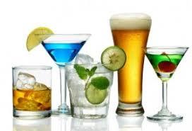 Resultado de imagem para BEBIDAS ALCOÓLICAS
