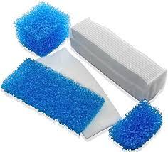 vhbw Wet Protects Motor for Vacuum Cleaner <b>Hepa</b> Filter Kit Foam ...