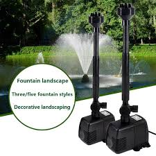 Changing LED submersible water pump <b>fountain pump</b> fountain ...