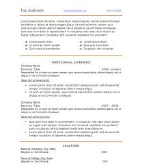 resume fonts and templates co resume style 4