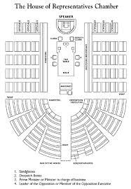 Diagram of Chamber   Parliament of AustraliaHouse of Representatives Chamber Diagram