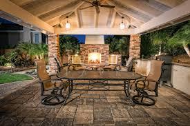 outdoor fireplace paver patio: san diego pavers lafitt patio with outdoor fireplace