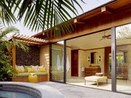 patio sliding glass doors  sliding glass doors open up leading into a stunning and soothing patio
