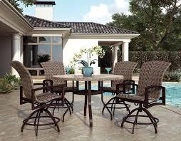 swivel rocker balcony stool balcony height patio dining furniture