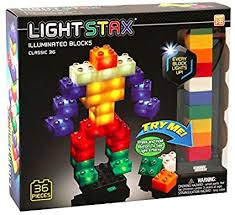 Light Stax Junior Classic Illuminated Blocks - Led ... - Amazon.com