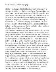 short biography essay examples   sludgeport   web fc  combiography sample paper   time for kids