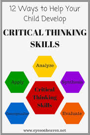 Bing lesson plans can help students with critical thinking skills     CRITICAL THINKING LINKS FOR  th to  th GRADE EDUCATORS  complementary