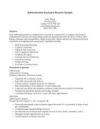 resume examples administrative assistant resume objective resume executive assistant resume objectives