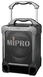 sound system wireless: portable pa speaker w wireless microphone