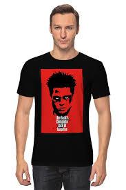 <b>Футболка классическая</b> Tyler Durden (<b>Fight</b> Club) #724781 от ...