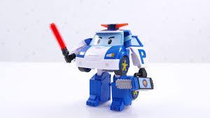 Робот-<b>трансформер</b> Поли с подсветкой от <b>Robocar Poli Silverlit</b> ...