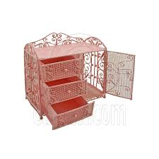 pink wire dresser chest cabinet 16 for barbie dolls house dollhouse furniture barbie furniture for dollhouse