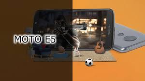 Обзор <b>смартфона Moto E5</b> - YouTube