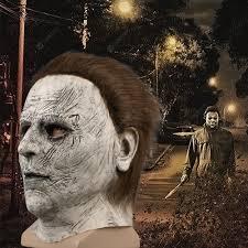 <b>Halloween Mask Horror Mcmel</b> Michael Scary Cosplay Mask Adult ...