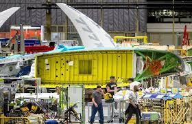 Door blows out during ground test on Boeing 777X jet | The Seattle ...