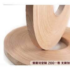 100meters/roller <b>Width</b>:20mm Thickness:0.5mm Natural Cherry ...