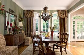 Formal Dining Rooms Elegant Decorating Decorating Ideas For Dining Room Windows Home Interior Design