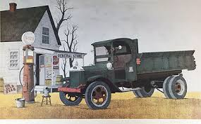 """William Cooms """"General Store"""" Hand Signed / #'d lithograph - <b>Rustic</b> ..."""
