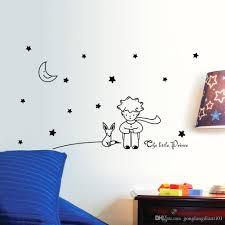 buy owls wall stickers home stars moon the little prince boy art vinyl wall sticker home decor wal