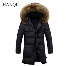 <b>2018 Winter Puff Jacket</b> Men Coat Thick Warm Casual Fur Collar ...