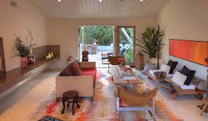 view in gallery smart living area with a colorful rug plush textures and a bohemian mediterranean style bohemian living room furniture