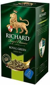 <b>Чай Richard Royal Green зеленый</b> 25 саше х 2г – цена, описание ...