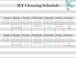 daily house cleaning schedules info daily house cleaning template weekly house cleaning template