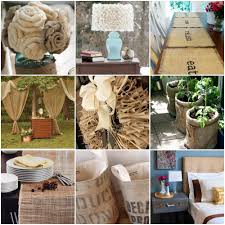 Decorating With Burlap Burlap Decorating Ideas Images Home Furniture Ideas