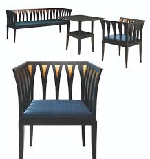 eliel saarinens blue furniture its in reproduction please give me the money to buy blue furniture