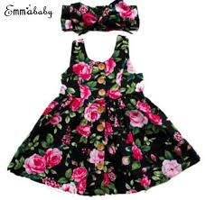 <b>2019 Autumn Long Sleeve</b> Girls Dress Baby Girl Clothes Button ...