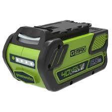 «<b>Аккумулятор Greenworks G-MAX</b> 40V 6 А/ч» — Аккумуляторы и ...