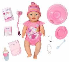 Интерактивная <b>кукла Zapf Creation</b> Baby Born 43 см 823-163 ...