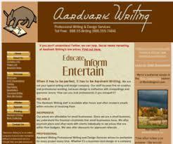 aardvarkwriting com  professional  technical  creative writing services  copywriting  editing