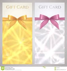 voucher gift certificate coupon boxes bow royalty stock coupon voucher gift certificate gift card star stock photos