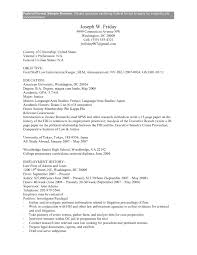 cover letter federal job application