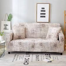 Stretch <b>Chair Covers 6 pcs</b> Brown Polyester Rib Fabric Sale, Price ...