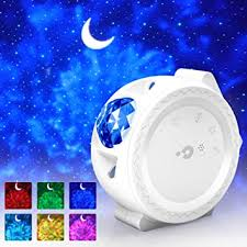 Kids <b>Night</b> Light, Nebula Projector Baby Lights, 3-1 Projector <b>Moon</b> ...