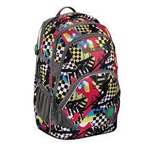 <b>Coocazoo EvverClevver2 Checkered Bolts</b> school backpack (129875)